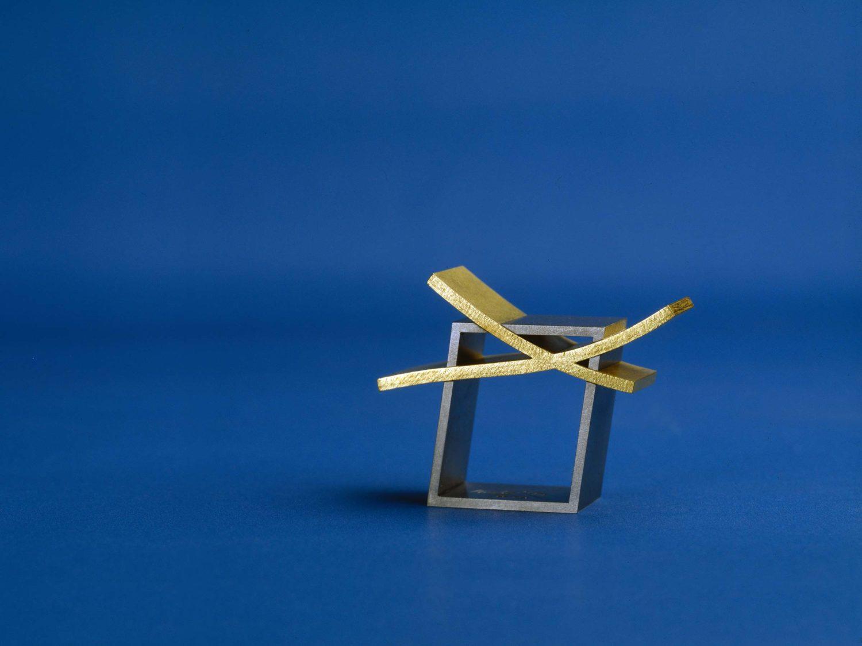 Ring, gold, white gold, 1999