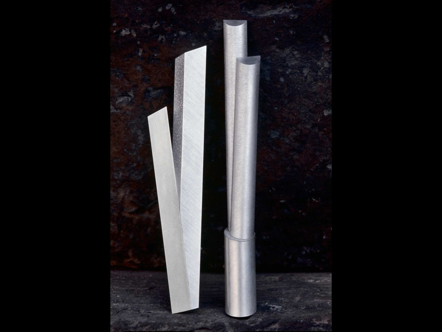 Two brooches, silver, 1997/2000