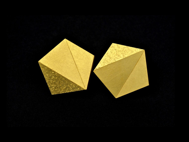 earrings, gold, 2008/09