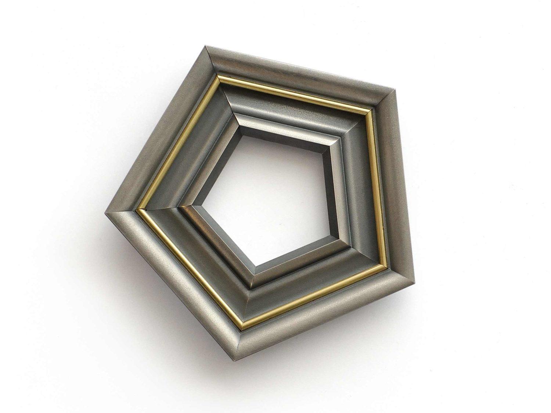 Brooch, oxidized silver, gold, 2018
