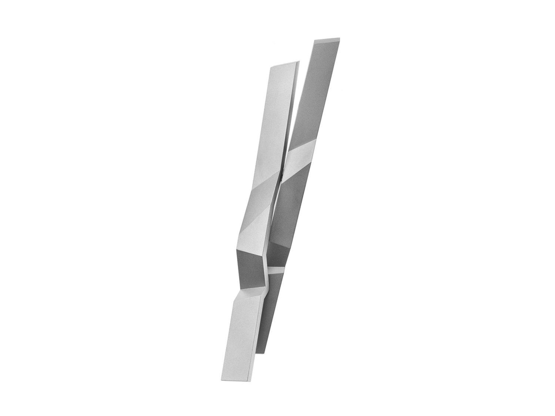 Brooch, rhodanized silver, 2016
