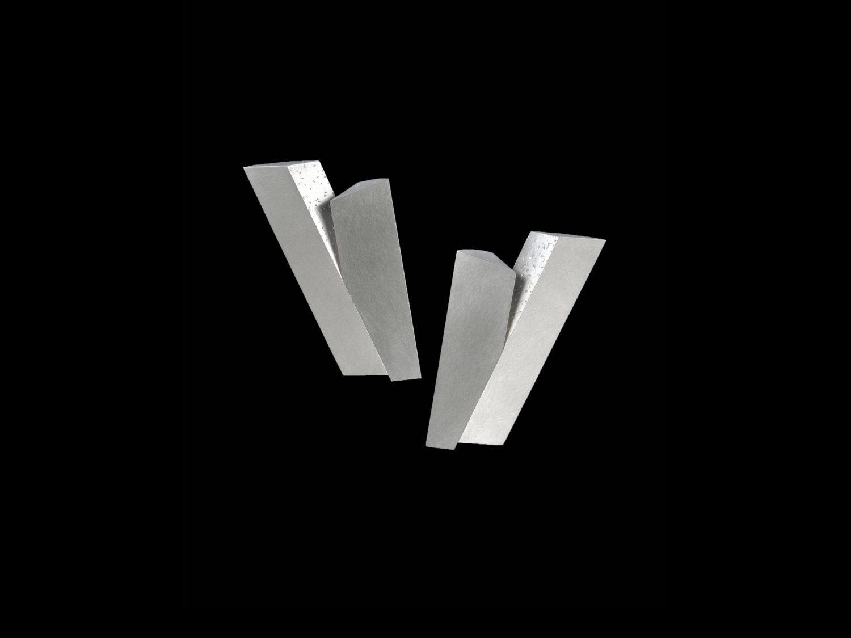earrings, silver, 1996