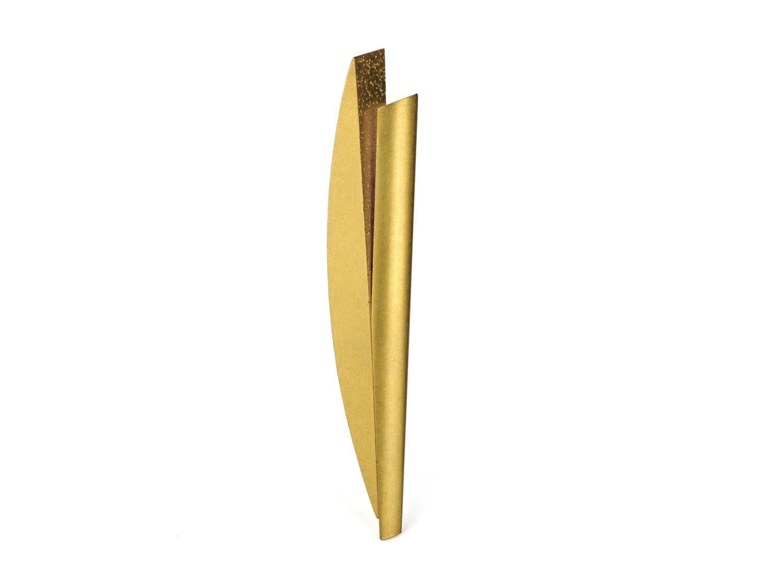 brooch, gold, 1997