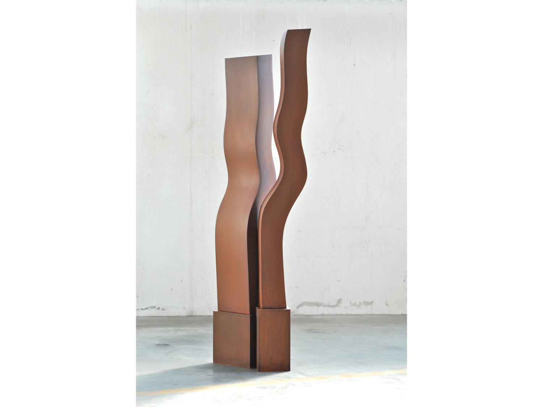 sculpture, Corten steel, H 2.2 m, 2009