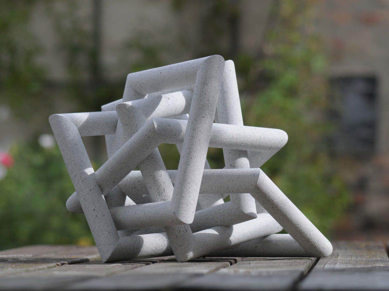 Sculpture, wood, acrylic,   23.5 × 30 × 25 cm, 2008