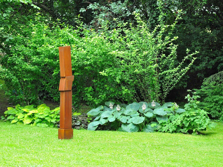 sculpture, corten steel, H 2.20 m, 2009