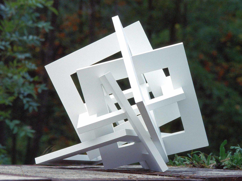 sculpture, wood, acrylic, 55 × 60 × 45 cm, 2007/08