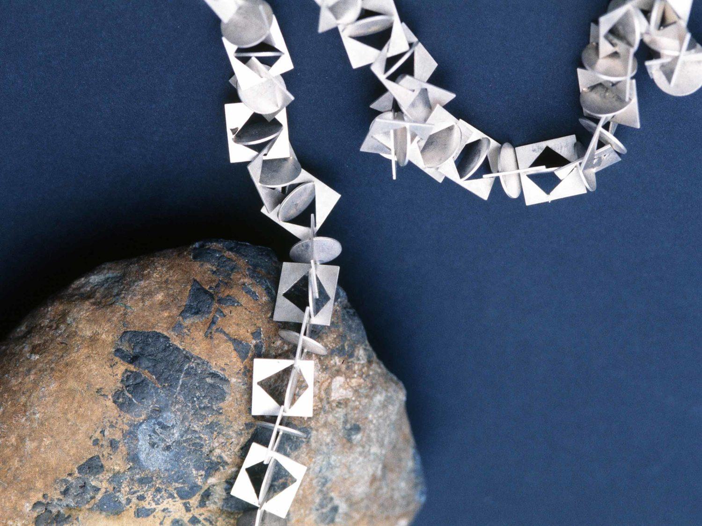 Necklace, silver, 2005